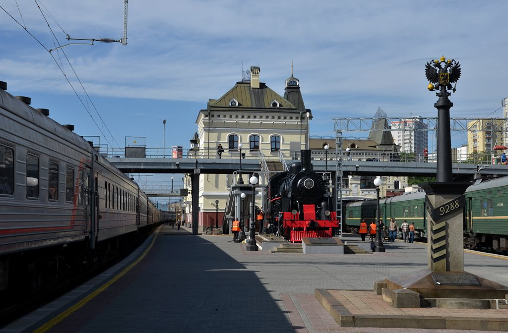 Vladivostok Railway Station – end of the Trans-Siberian railway