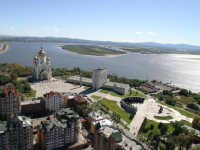 Khabarovsk city sightseeing
