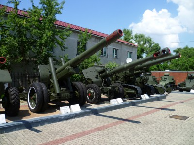 Military highlights of Khabarovsk city