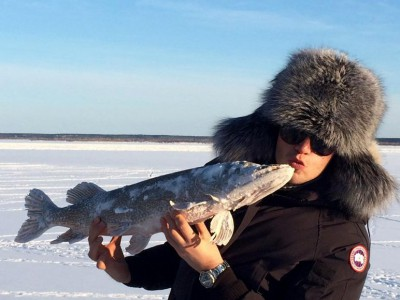 Ice Fishing in Yakutsk